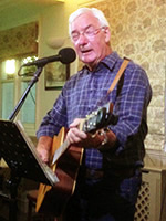 Mike Stapley @ Orpington Folk Club, the Change of Horses 2015